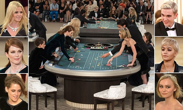 Singers, supermodels and celebrity kids roll up at Chanel's uber chic roulette tables