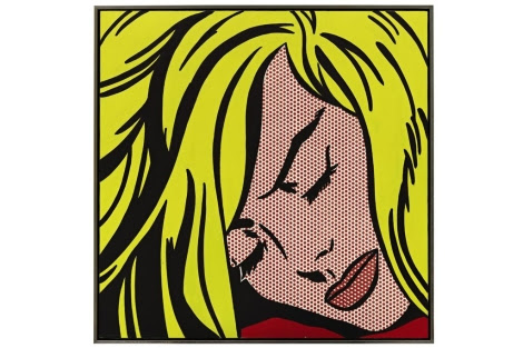 'Sleeping girl', del artista pop Roy Lichtenstein, vendida por casi 45 millónes de dólares.