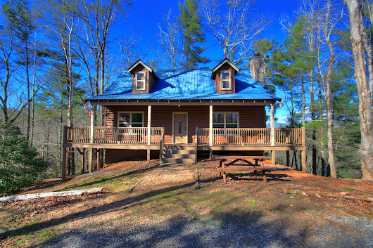 Chattahoochee Cabin Rental | Whispering Waters In Helen Georiga