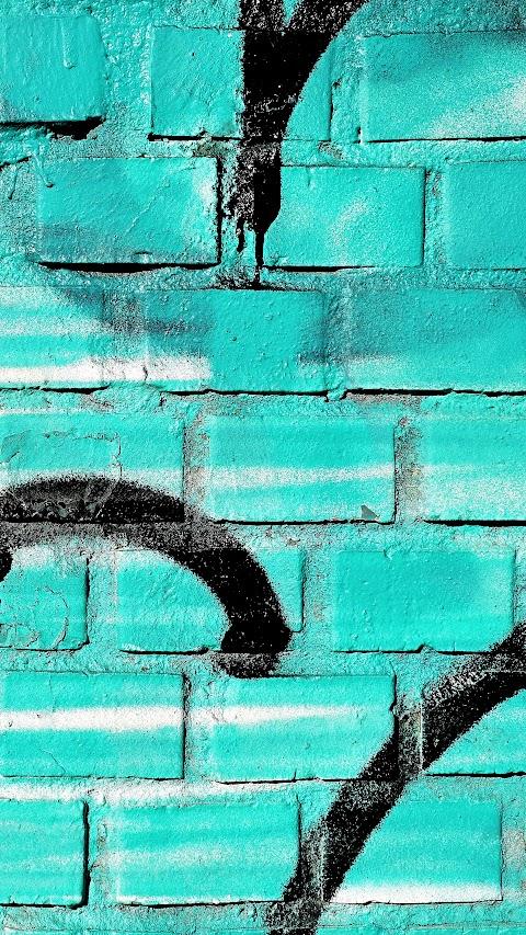 خلفية رسم على الجدران بالالوان بدقة عالية hd