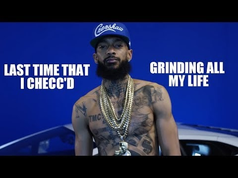 Nipsey Hussle x Snoop Dogg x DMX - Last Time That I Checc'd / Grinding All My Life