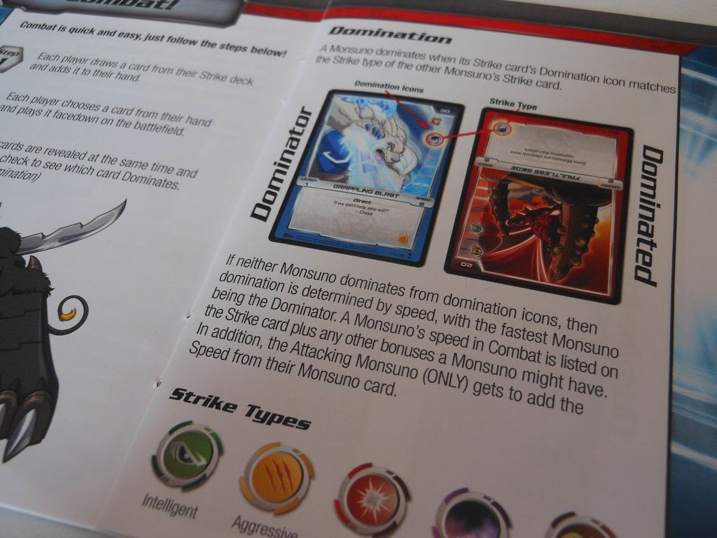 Monsuno rules book