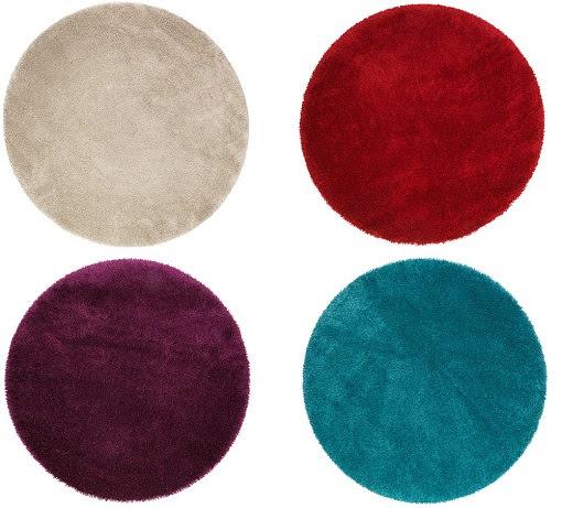 C mo decorar la casa alfombras redondas ikea for Alfombras lisas online