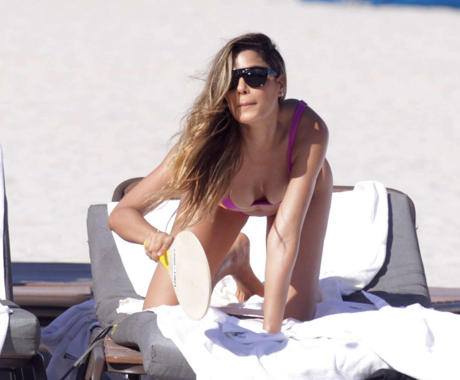 Ariadna Gutierrez in Bikini on the beach in Miami
