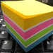 Day 51, July 21 - A Rainbow of Post-its