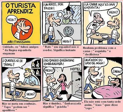 Falsos Cognatos Em Espanhol Confira Os 50 Mais Conhecido