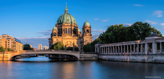 ~ Cathedral of Berlin sunset ~