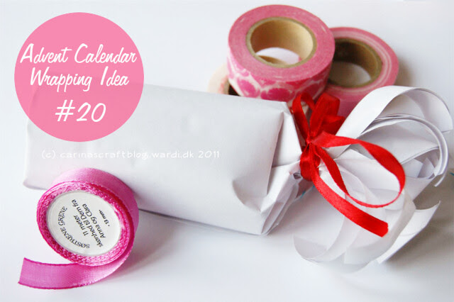 Advent Calendar Wrapping Idea #20
