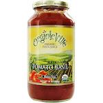 Organicville Organic Pasta Sauce Tomato Basil 24 oz.