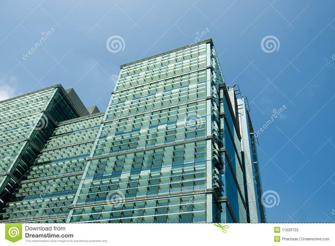 Large Glass Modern Office Building Design Stock Photography ...