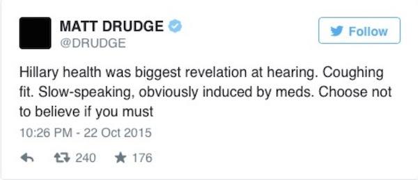 Drudge Hillary
