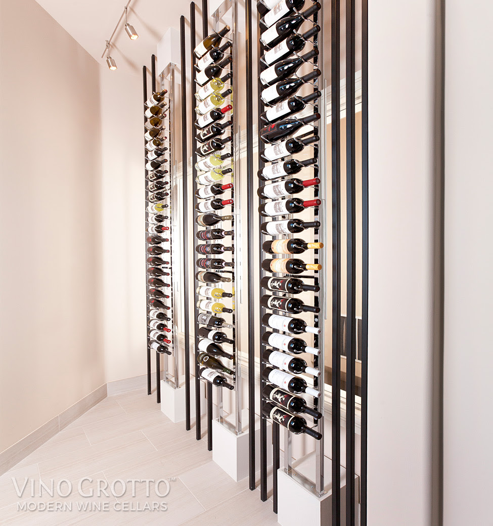 Vintageview Floor To Ceiling Mounted Frame Vino Grotto