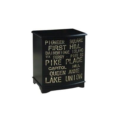 Pulaski Rustic Distressed Chic Accent Cabinet | Wayfair