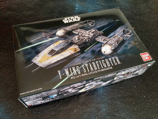 Build Your Own Y-Wing Starfighter