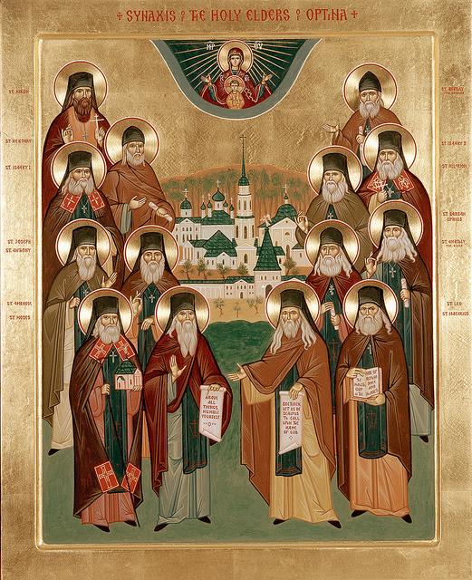 Optina Elders Icon