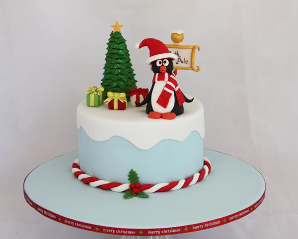 40 Christmas Cake Decoration Ideas To Dazzle You Christmas Celebration All About Christmas