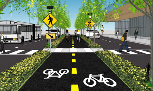 NOACA boosts protected bike lane projects in Cleveland with spending package (photos) |