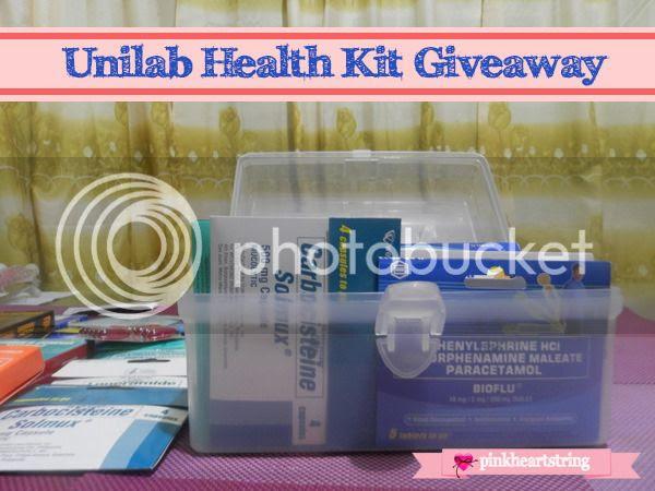 Unilab health kit giveaway