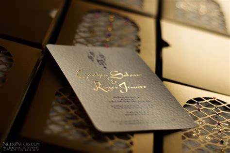 Moroccan Wedding Invitations and Save the Date Cards
