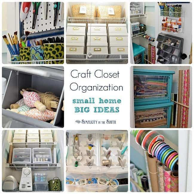 My Craft Closet: Organization Tips and Ideas Part 2 (small home ...