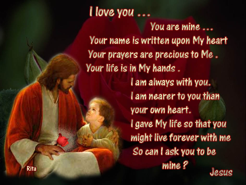 Jesus Christ With Quotes 14
