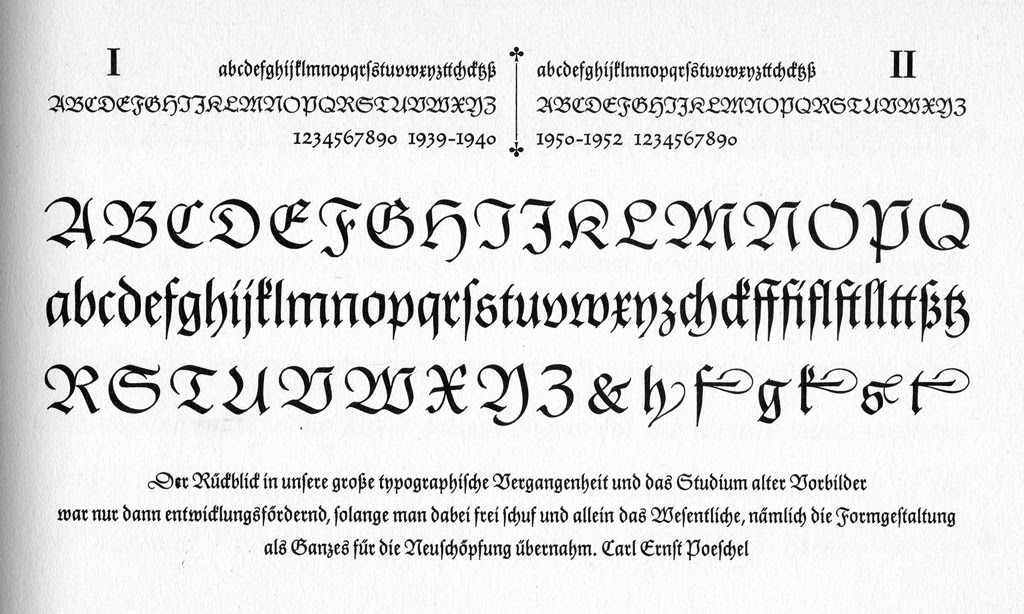 Paul Shaw Letter Design Gilgengart The Tale Of A Typeface