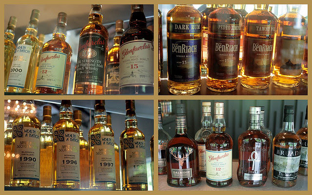Whisky bounty at Infusion