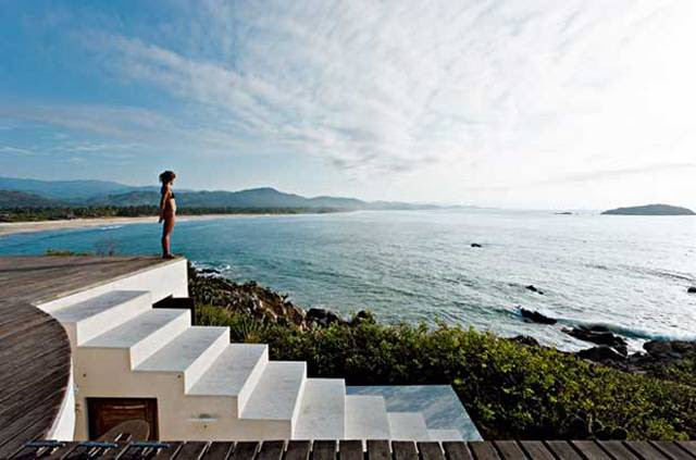 Unusual Mexican Vacation Home by Architect Tatiana Bilbao | Home ...