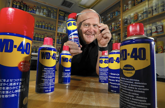 WD-40 CEO Garry Ridge explains company's slick success