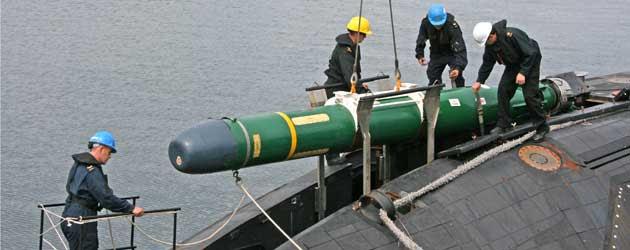 Mk 48 torpedo unload