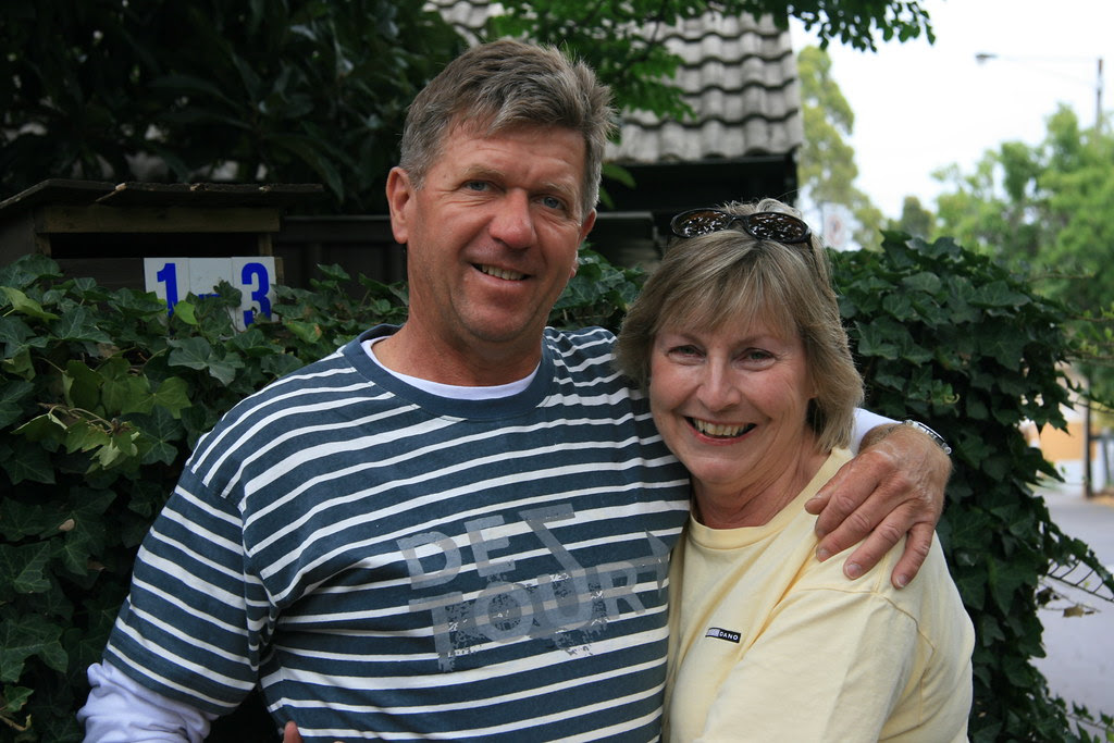 Ken and Sue Weslake