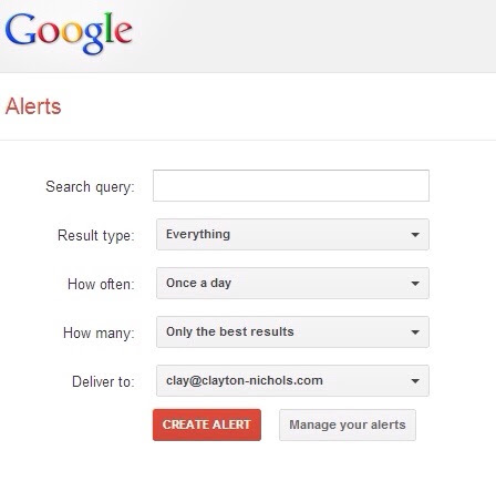 Google Alerts Tips and Tricks