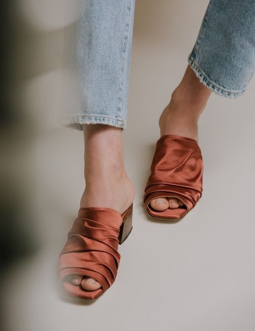 Le Fashion Blog 9 Amazing Spring Items Shop Need Supply Silk Mules Via Need Supply