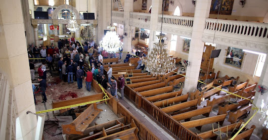Two Explosions Kill at Least 21 at Egyptian Coptic Churches on Palm Sunday