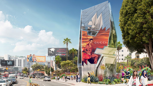 Futuristic digital billboard to be erected in Hollywood