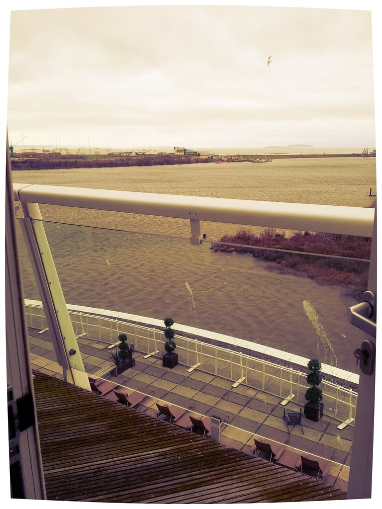 Balcony  at St David's Hotel and Spa