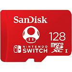 SanDisk 128GB UHS-I microSDXC Memory Card for Nintendo Switch
