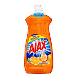 Ajax Ultra Triple Action Dish Soap, Orange - 28 fl oz bottle