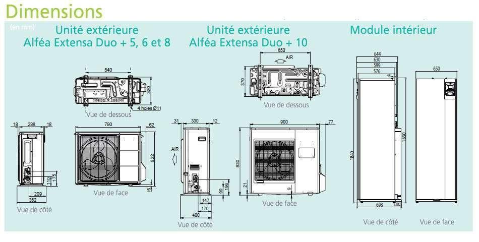 Installation climatisation gainable avis pompe a chaleur atlantic duo - Avis pompe a chaleur ...
