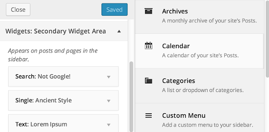 Widget Customizer Officially Merged Into Core for WordPress 3.9