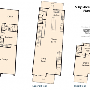 V by Shea Homes in Leucadia - Floor Plan 4 - North County ...