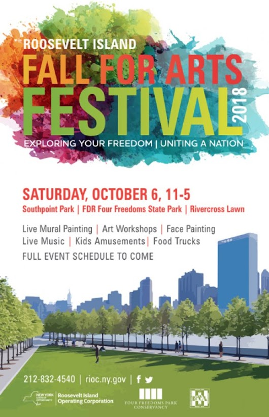 Tomorrow, October 6th, Roosevelt Island's Big Autumn Saturday
