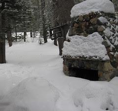 cabin christmas 2009