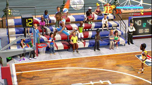 The Gaming Tailgate - NBA Playgrounds - First Gameplay Details