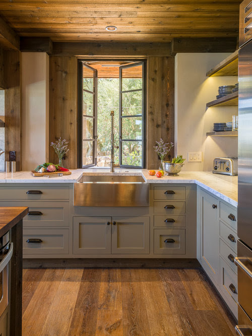 Rustic Kitchen Design Ideas Remodel Pictures Houzz