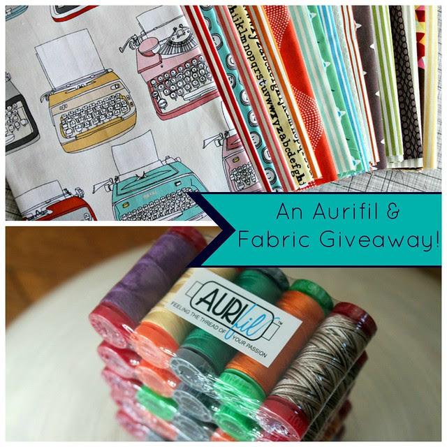 Aurifil & Fabric Giveaway!