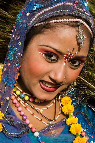 _MG_2262 Peacock the symbol of beauty - Elephant Festival - Jaipur India by © Cameron Herweynen.