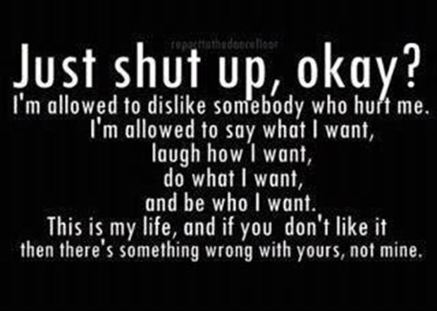 Shut Up Funny Quotes Dump A Day
