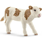 Schleich North America 7215320 Simmental Calf Figurine