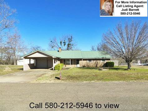 2409 Jenny Lane, Idabel, Oklahoma, For Sale by Integrity Real Estate Services